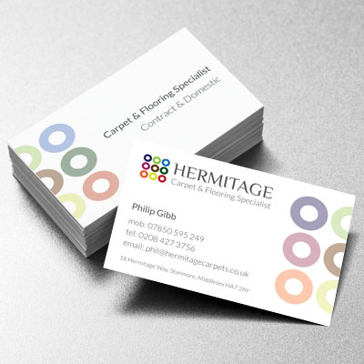 Branding Design Hermitage Businesscard