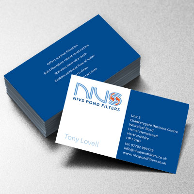 Branding Design Nivs Businesscard