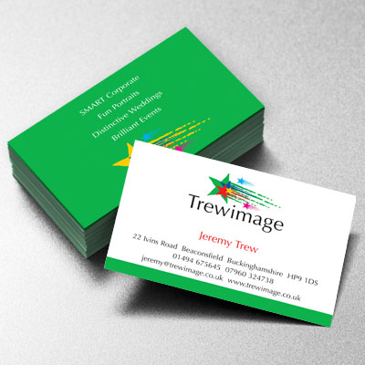 Branding Design Trew Image Businesscard