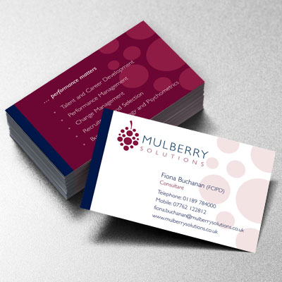 Branding Design Mulberry Businesscard