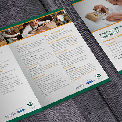 BWF Graphic Design for Print Holly Small Design