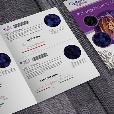 Cytocell Graphic Design for Print Holly Small Design