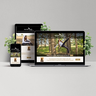 Davinder Website Design Development Holly Small Design